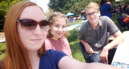 Keri Jones, Kati Bowden, and Shawn Lynn